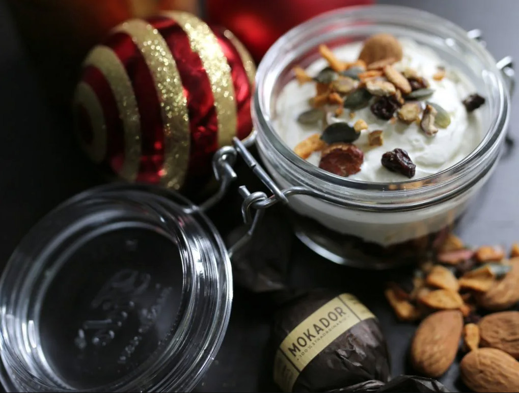 Christmas coffee cake di Mokador a base espresso