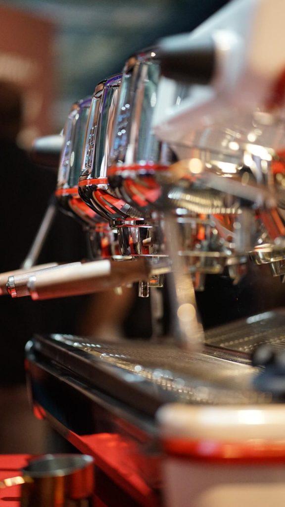 La Cimbali M100 Attiva è tra i modelli che utilizzano lo Iot