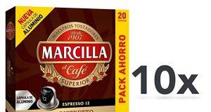 Marcilla Nespresso compatibili Spagna