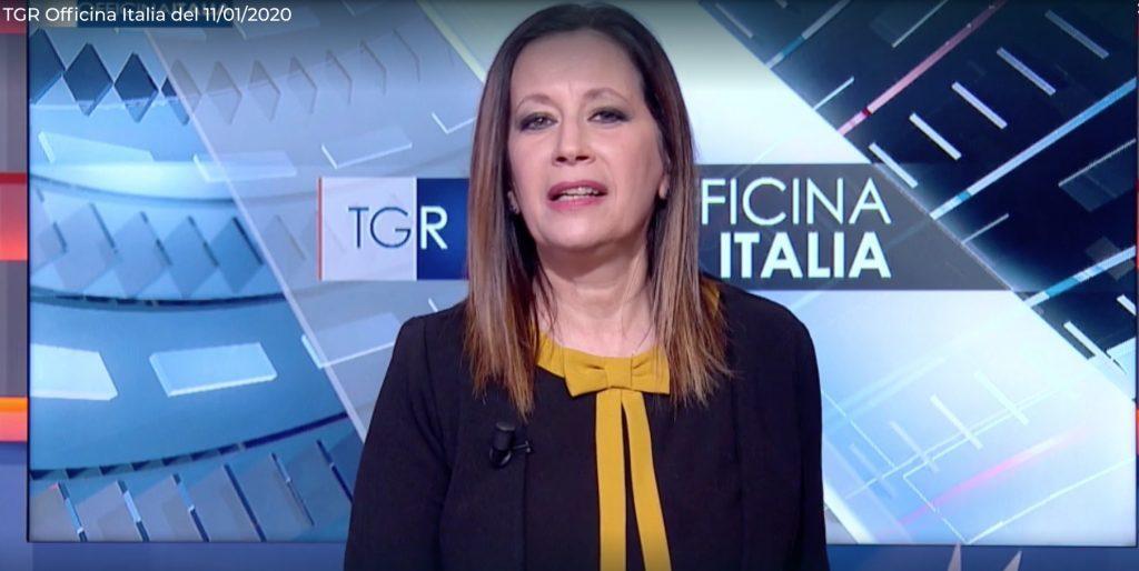 Claudia Modelli giornalista rai