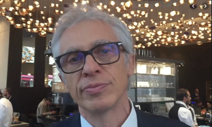 Sergio Cravero, Chief Marketing Officer Gruppo Lavazza: