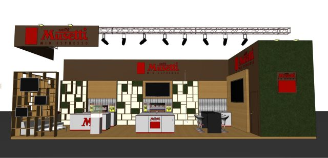Lo stand Musetti per Sigep 2020