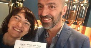 Anna Muzio e Andrea Cuomo con il loro Libro Mondo caffè