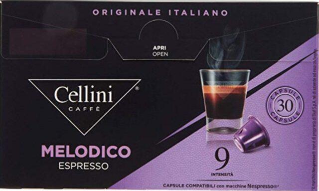 Cellini Melodico capsule espresso
