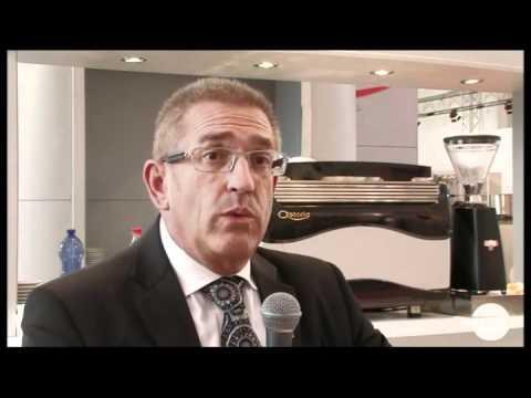 Flavio Urizzi export manager della Cma macchine peril caffè