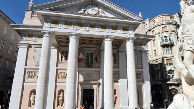 La sede della camera di commercio di Trieste