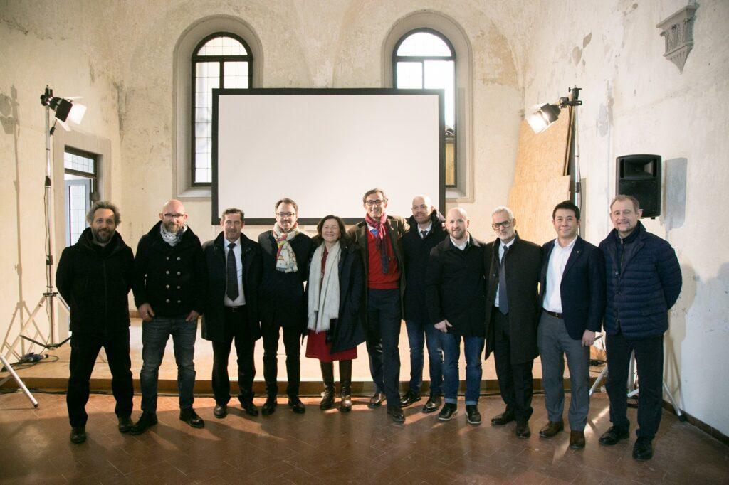 Presentazione del cantiere con i protagonisti de La Scuola del caffè di Firenze © Giulio Garosi