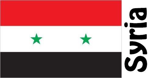 Bandiera della Repubblica di Siria