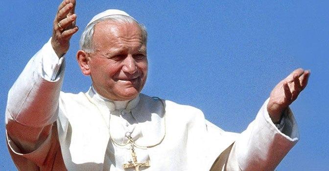 papi e caffè Giovanni paolo II