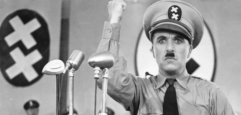 Chaplin Lavazza Grande dittatore