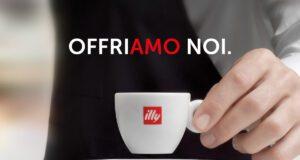 L'iniziativa offriamo noi di illy caffè