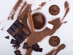 internatio cioccolato dentro il caffè