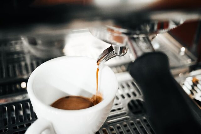 sciacquare espresso