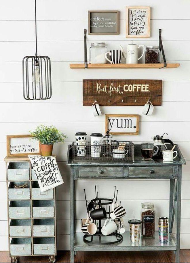 Angolo Caffe A Casa Come Al Bar Ecco Come Ricrearlo Nella Propria Cucina