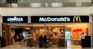Bari McDonald's lavazza