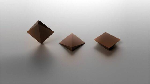 goccia di cioccolato