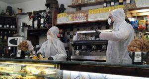 barista mascherina tregua