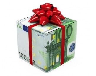 pacchetto soldi euro