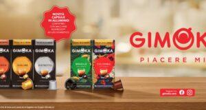Gimoka capsule in alluminio compatibili Nespresso