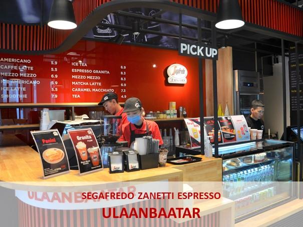 Segafredo Zanetti secondo bar in Mongolia