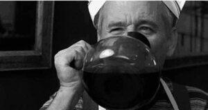 l'espresso caffeina bagno di caffè