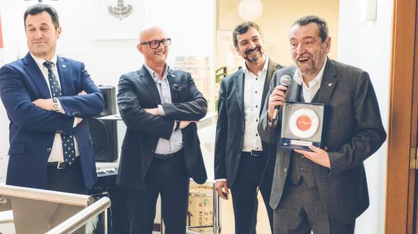 Luigi Odello nominato personaggio del caffè dell'anno a Trieste