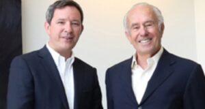 Luciano Berti (a destra) con il figlio Filippo amministratore delegato del Gruppo Ali