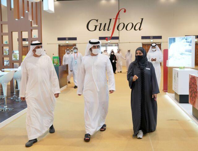 Lo sceicco Maktoum bin Mohammed apre Gulfood 2021