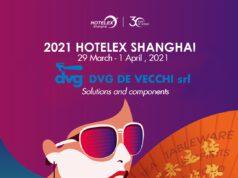 Dvg De Vecchi a Hotelex Shanghai