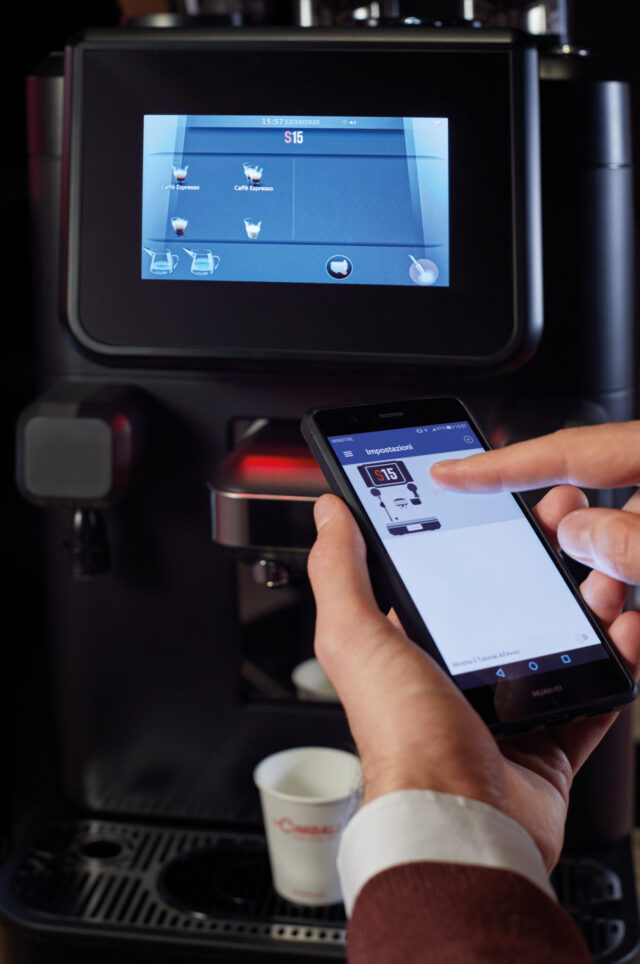 La Cimbali S15 app Cup4you
