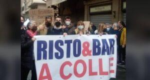 protesta baristi autogrill