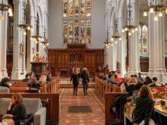 All'interno della chiesa di Saint Mary Aldermary si trova una delle caffetterie più incredibili di Londra