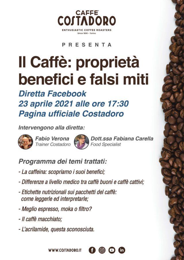 فیس بوک Costadoro evento