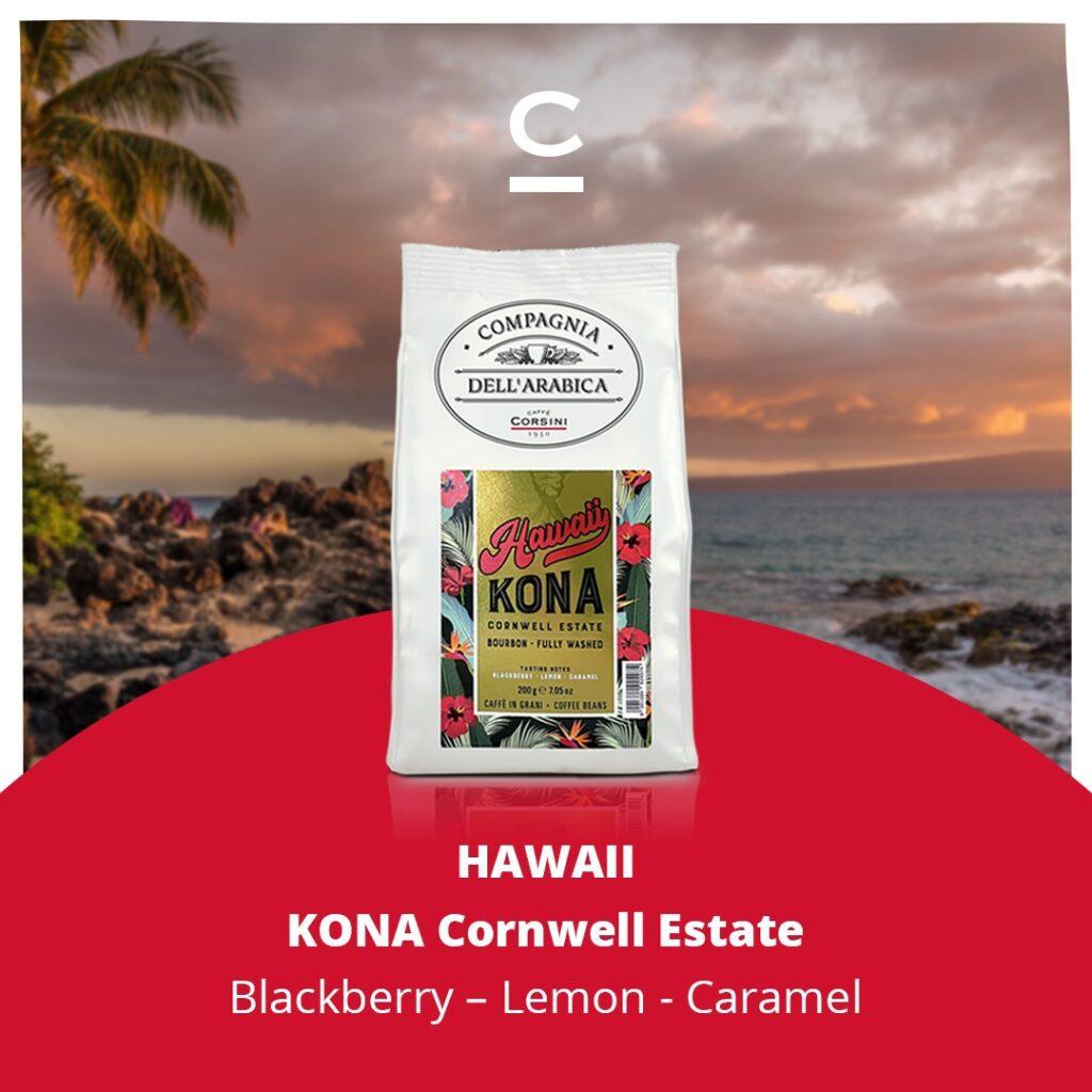 سبدهای قهوه هاوایی