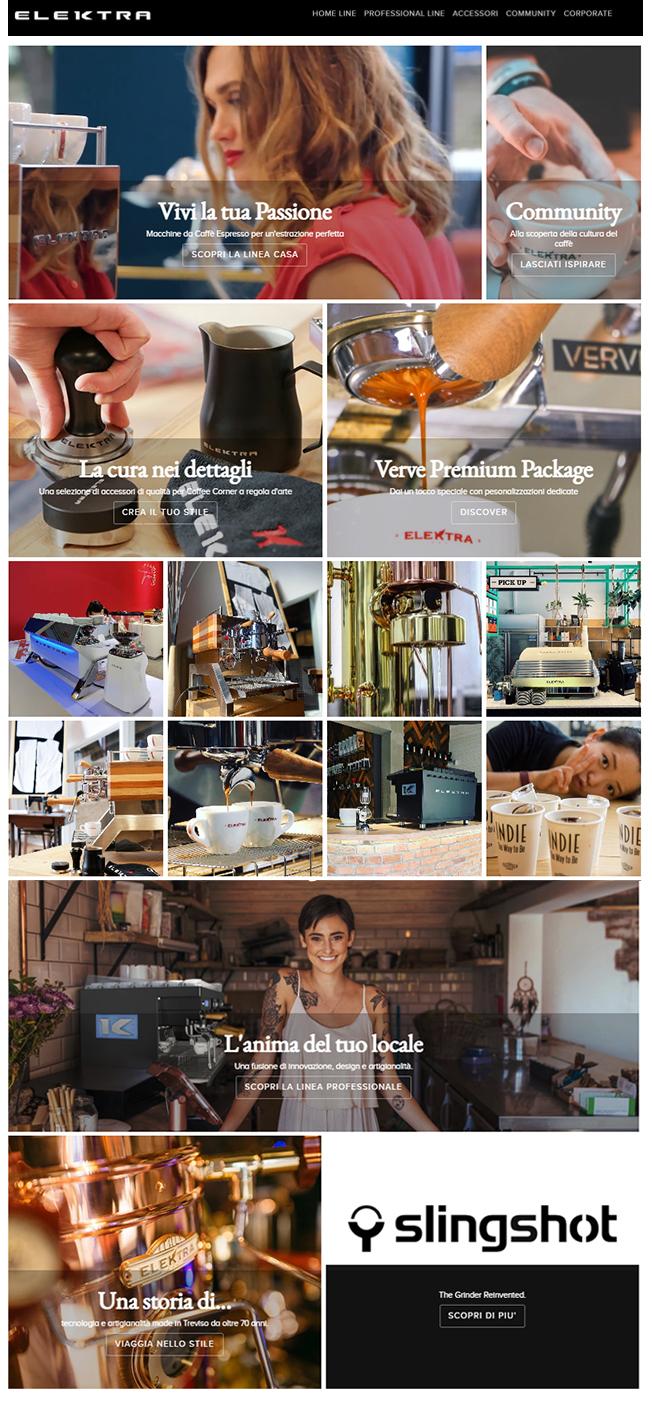 Elektra home coffee