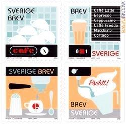 I francobolli svedesi