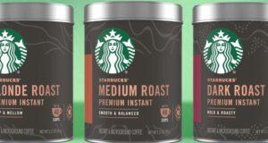 caffè solubile premium starbucks