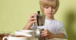 bambini caffè
