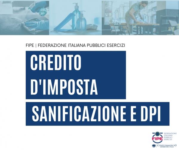 sanificazione credito imposta