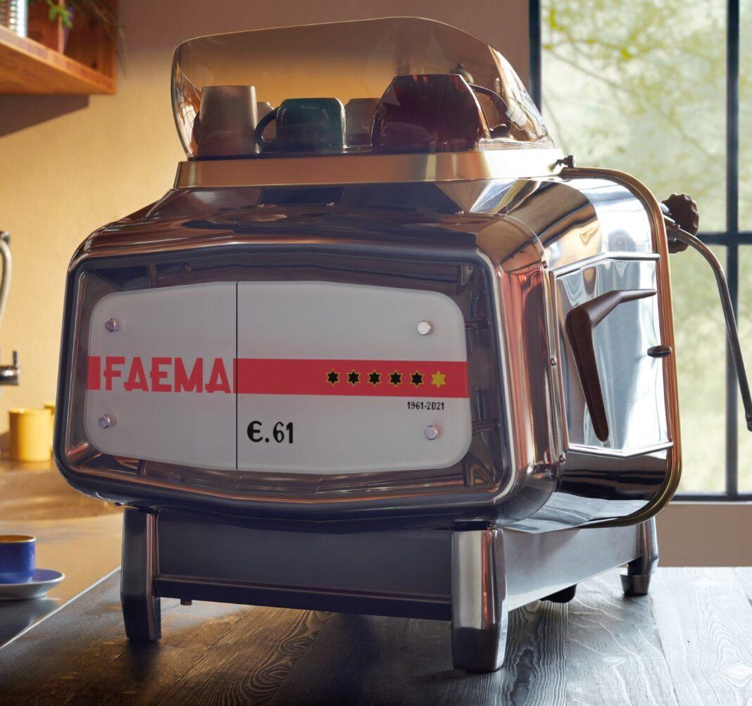 La Faema E61 per l'anniversario