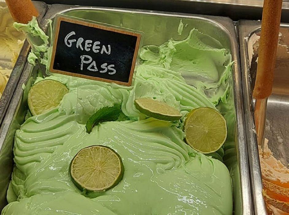 gelato green pass